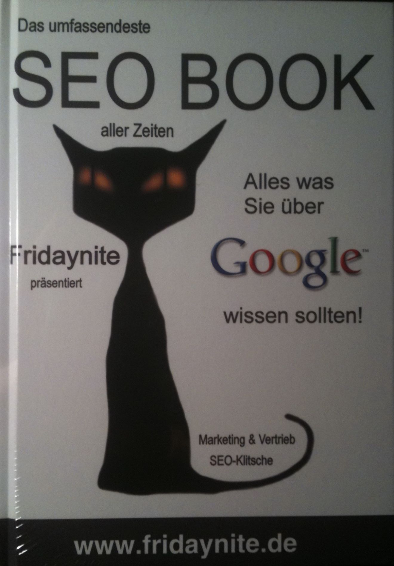 Fridaynite SEO Book